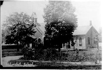 Aldershot School, Plains Road, ca 1905