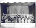 Singer and band at the Lido Deck, Brant Inn, ca 1938