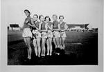 Winning novelty relay team from Burlington High School, County Field Day, Oakville, 1932