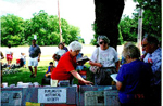 Burlington Historical Society  at Canada Day celebrations at Joseph Brant Museum, 1995