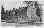 "Central School--Exterior of ""Central School"", postcard [ca. 1940]"