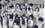 Chinese School  students at the  Canadian Martyrs' School, 1987