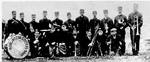 Burlington Citizens' Marching Band, 1919