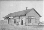 Grand Trunk Railway (downtown) Burlington Station, ca 1910