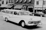 Burlington's first brand-new Ambulance Car, 1957