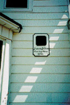 "Burlington Historical Society Plaque for ""Pilkey House"", 497 Elizabeth Street, built in 1866 for James Allen, Carriage Maker, 1997"