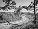 "King Road, the so-called ""Magnetic Hill"", ca 1940"