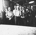A. S. Nicholson Lumber Company shop staff