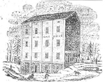 H.P. Zimmerman's Grist &amp; Flouring Mill, 1858