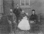 Five generations of the Breckon and Alton family: Henry Edmund Alton, Charles E. Alton, Mary Ann Alton, Charles B. Alton, Isabella Breckon, ca 1905