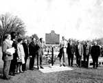 """Unveiling of the """"La Salle at the Head of the Lake"""" Historical Plaque, 20 September 1970"""