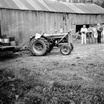 Farm building, Cedar Springs Road, 1974