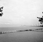 Burlington Waterfront -- View of Skyway Bridge