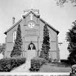 St. John's Roman Catholic Church -- exterior of church