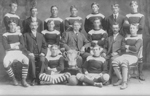 Football Club -- Strathcona Association Football Club, Burlington, Champions of Hamilton and District Leage, 1908