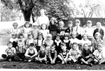 Bowen Family -- Grade One, Maplehurst School, Miss Myra Jeffries, Teacher