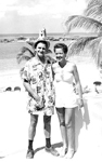 Carr Family -- Shirely and Bill Carr in Acapulco, Mexico