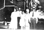 Bowen Family -- Gertrude, Mark and Shirley Bowen