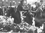 Bullock Family -- Annie Bullock selling at Hamilton Market