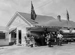 Bullock Family -- Bullocks' Roadside Market, Aldershot, 1950