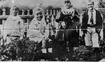Bullock Family -- Reg, Dick, Annie and Theo Bullock
