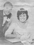 Emery Family -- Marriage of Dennis Edwin Young and Miss Vicky Daryl Emery