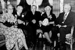 Horne Family -- (L-R): Mr.Mrs. Walter Horne with Emery, Lola and Gordon