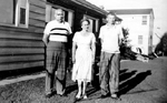 Horne Family -- Emory and Goldie Horne with son Allan