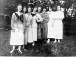 Horne Family -- Mrs. Rayeralt's Sunday School Class, 1918