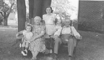 Mann Family -- Henry and Alice Mann, Grandchildren Loretta and Wanda Mann