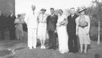 Mann Family -- Wedding of Gertrude Mann and Bert Gowland