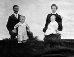 Sinclair Family -- Mr. & Mrs. George Sinclair at the turn of the century