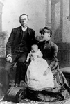 Scott Family -- Nathaniel Scott, with wife Lily and daughter Theodora