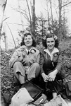 Girl Guides -- First Aldershot Girl Guide Leaders: Mrs. Mary Burton-Nicholson, Miss Georgean Zimmerman