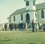 St. Matthew's-on-the-Plains -- last service in St. Matthew's church