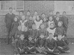 John Dudley Williamson -- JDW's class in Merton School, near Bronte, in 1905
