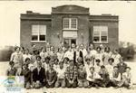 Children in front of Sparta Continuation School