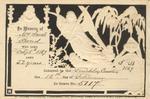 Memorial card: Sarah Bond