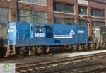 Conrail Locomotive CR5823 GP7 Assigned to St. Thomas