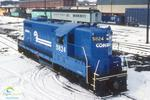 Conrail Locomotive and Caso Building