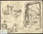 H.W. Cooper - Scenes in Ypres - Belgium