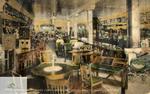 Postcard of W.B. Jennings Furniture Company
