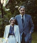 John Kenneth Galbraith and Catherine Galbraith, 1983