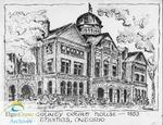 'The Elgin County Court House ~ 1853, St. Thomas, Ontario'