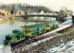 Port Stanley Terminal Rail Inc. train
