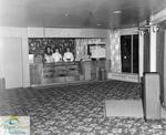 Three concession stand employees at the Roxy Theatre, Port Stanley