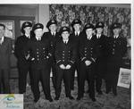 Officers of the Admiral Beatty Sea Cadet Corps at the Odeon Theatre, St. Thomas