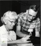 Photos and Letters binder- Miss Beryl Tindall and Mr. Lloyd Darlington at the STCI Centennial Reunion