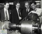 Grand Opening of the Canadian Timken Limited, St. Thomas, plant, 1947: Touring the new plant