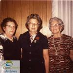 Mrs. Leonard Simpson Receives Her Life Membership